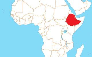 Африка. Эфиопия