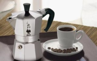 Гейзерная кофеварка (Мока)