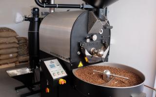 Процесс обжарки кофе