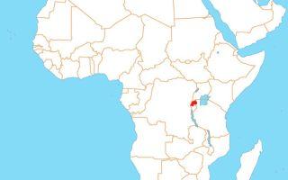 Африка. Руанда