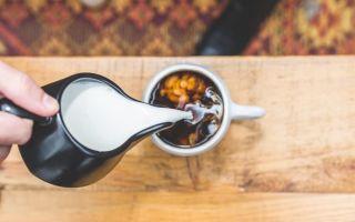 Кофе с молоком — полезный бодрящий напиток