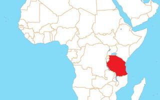 Африка. Танзания