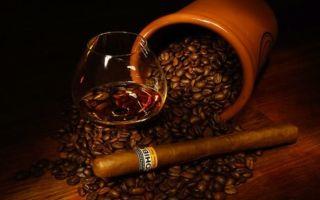 Самогон на кофе