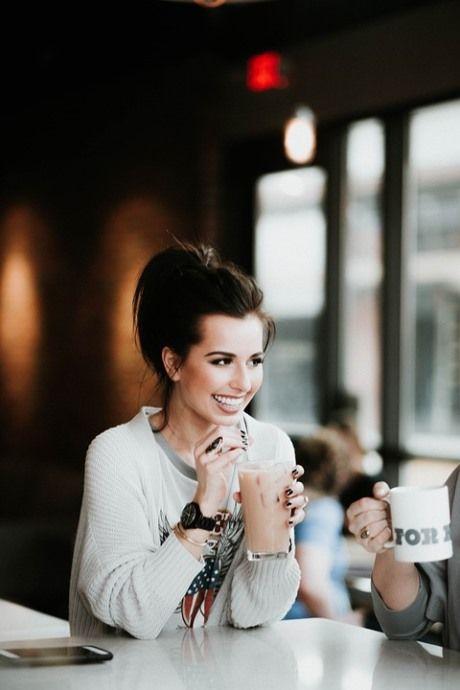 кофе и здоровые зубы