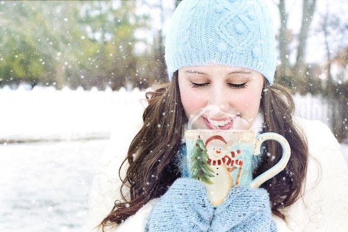 кофе зимой