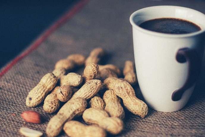 кофе и арахис