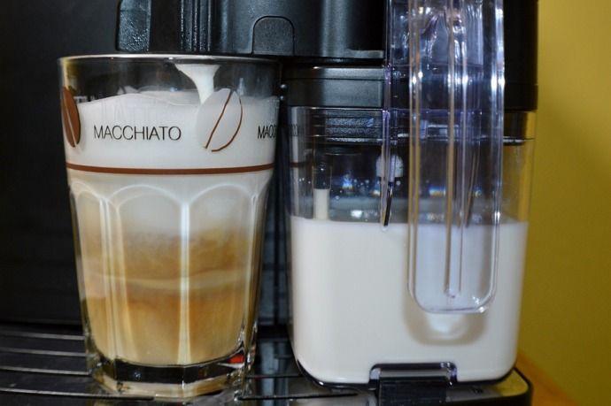 кофе макиато в кофемашине