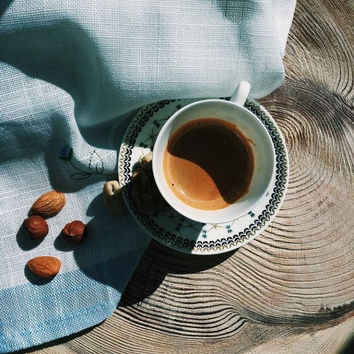 кофе, миндаль, фундук