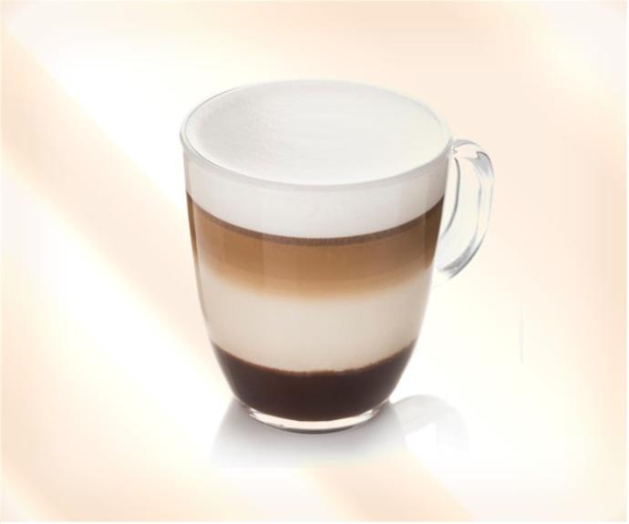 кофе слоями