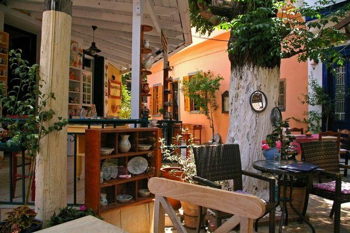 греческая кофейня
