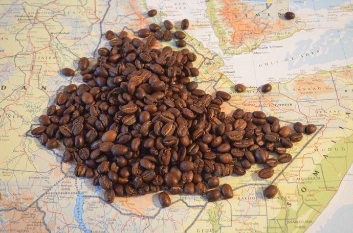 кофе на карте