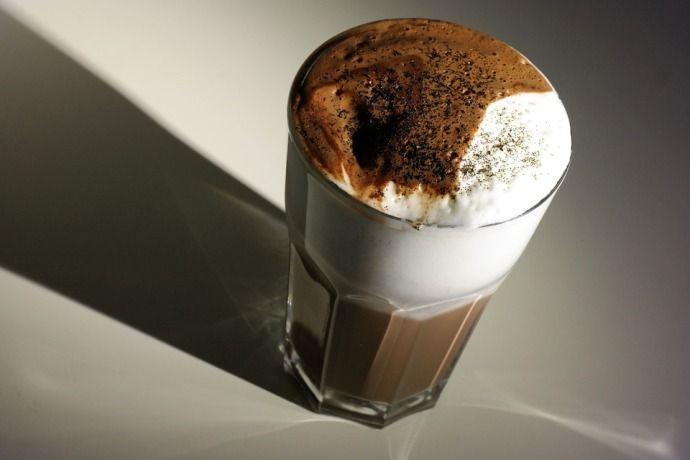 кофе с какао десерт