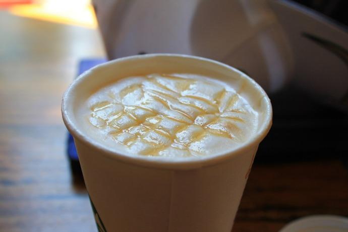 кофе с карамелью