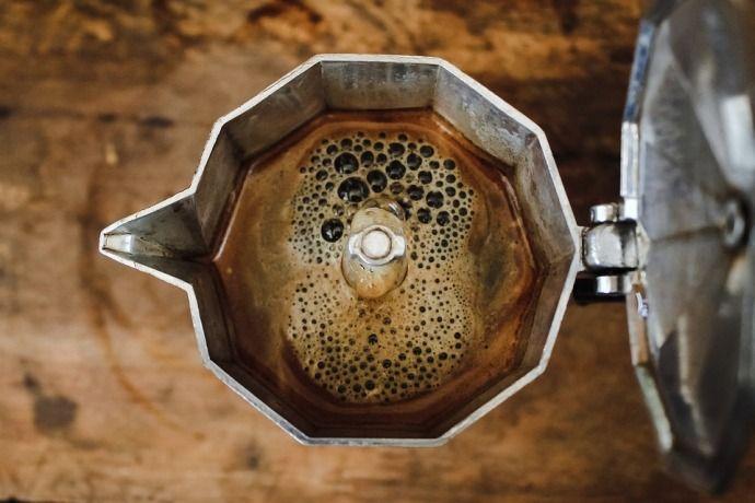 кофе в кофейнике