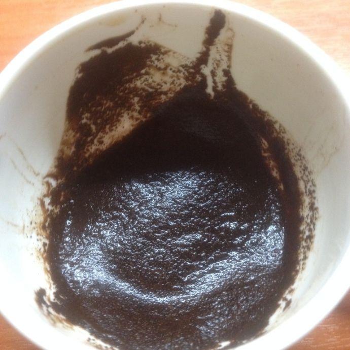 гуща кофе в чашке