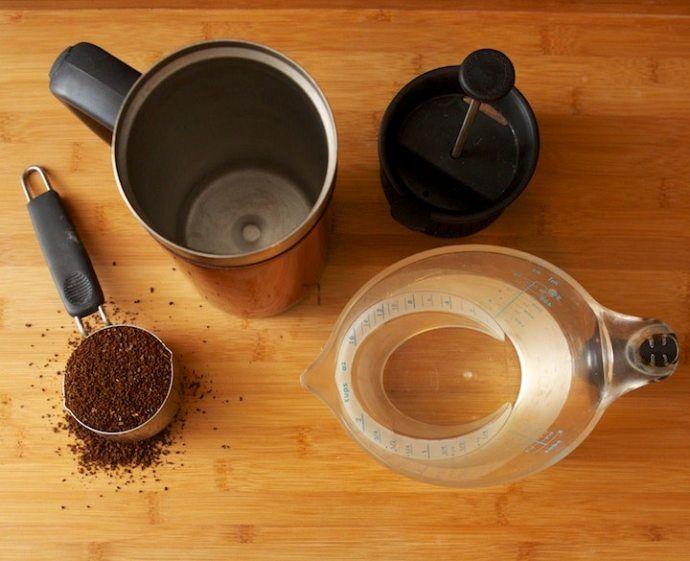 как приготовить молотый кофе