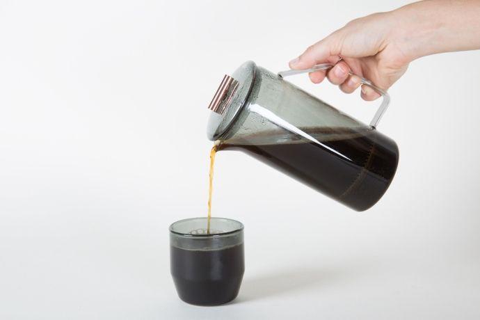 кофе из френч-пресса