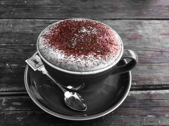 кофе с крошкой