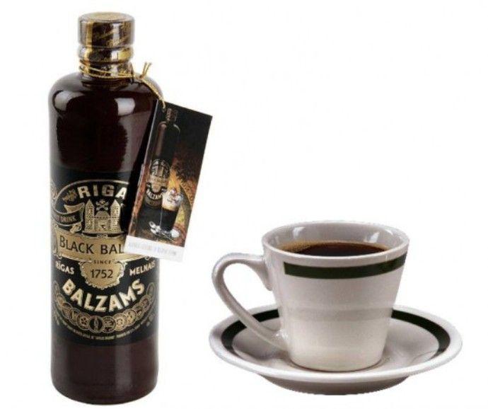 кофе с рижским бальзамом
