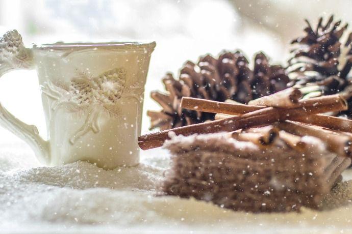 Рождественский кофе с корицей