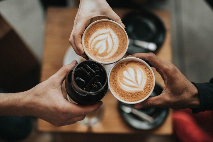 три кофе