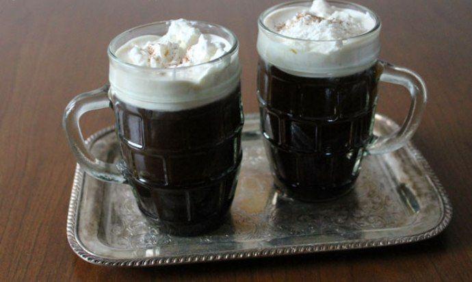 два кофе с ромом