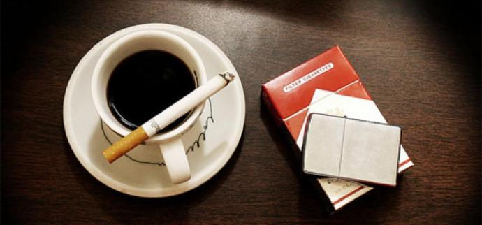 кофе и мальборо