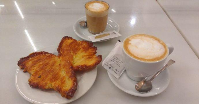 кофе и выпечка