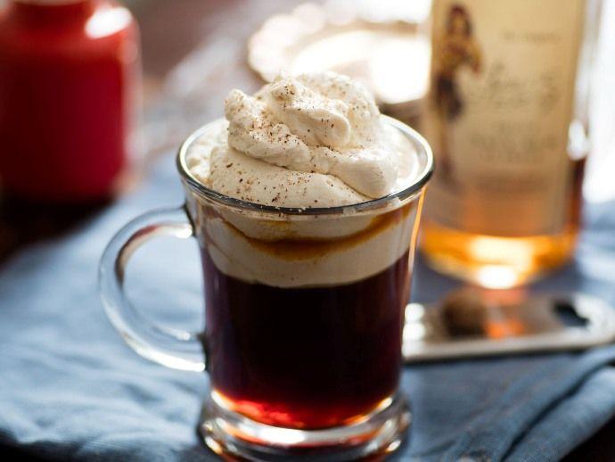 кофе по-ирландски со сливками
