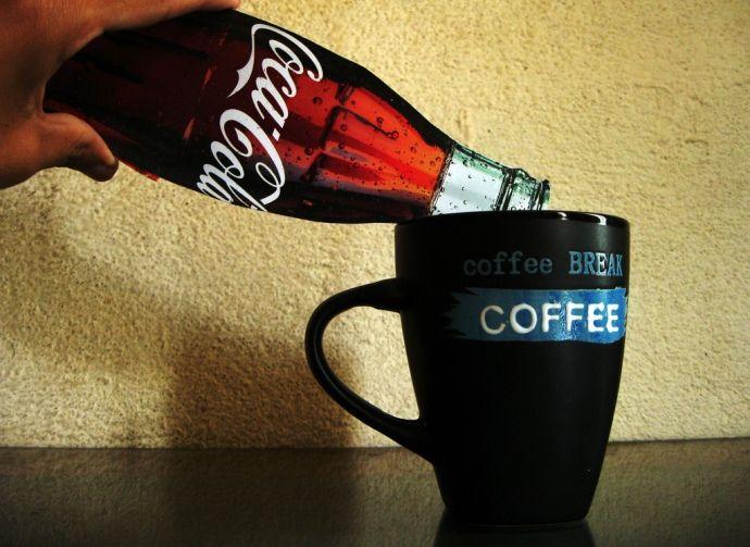 кола в кофе