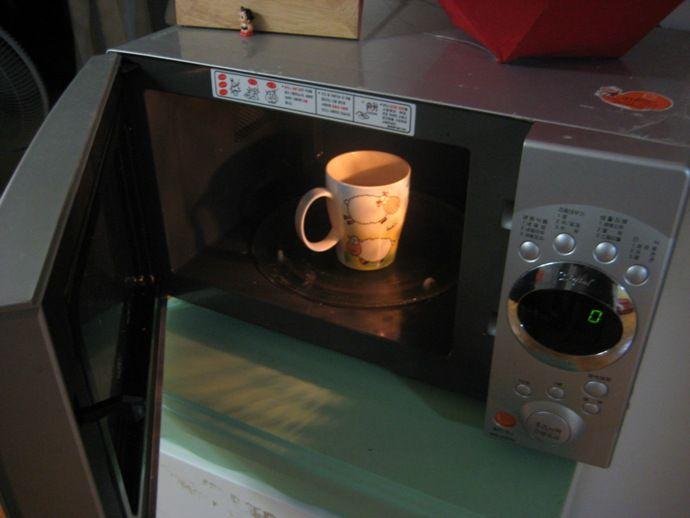 приготовление кофе в СВЧ