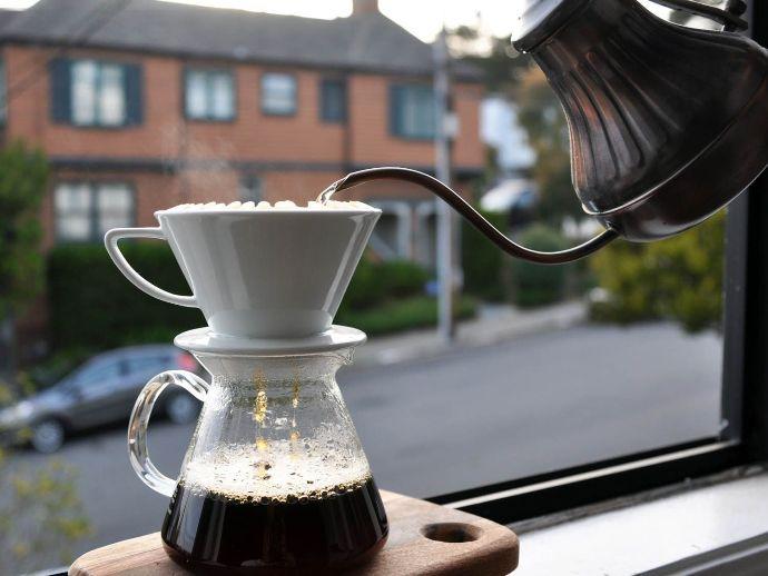 кофе из кофейника