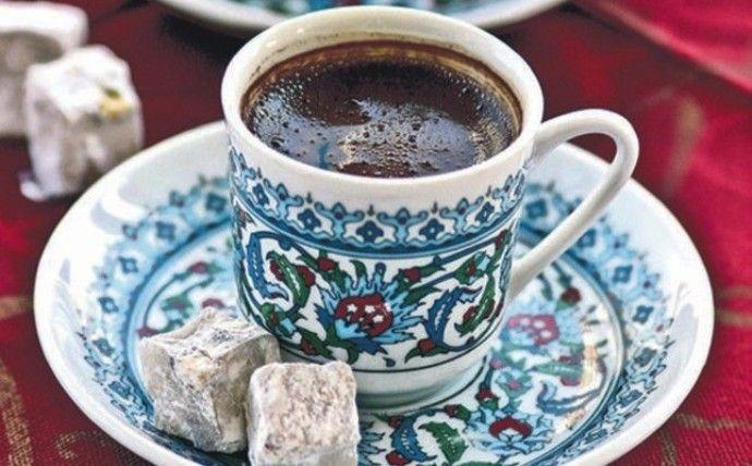 подача кофе по-турецки
