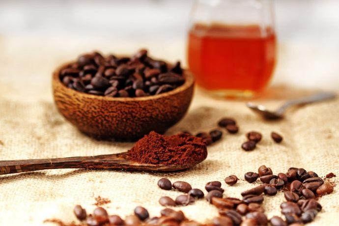 кофейные зёрна, мёд