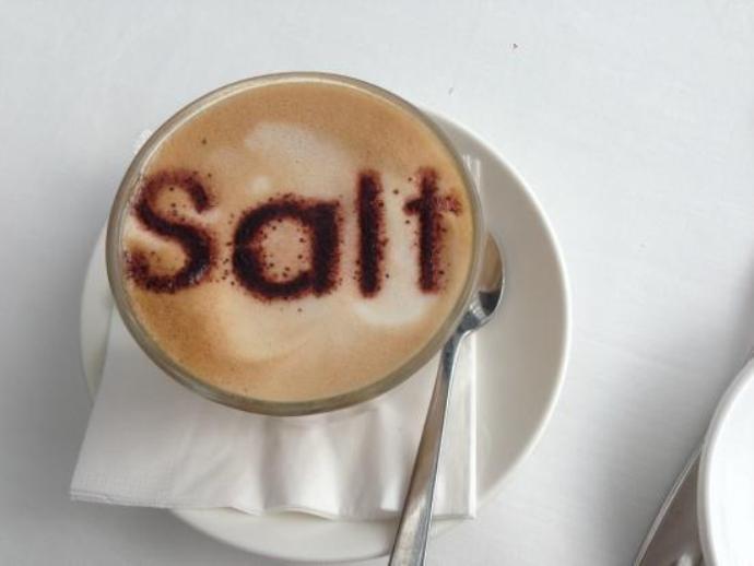 солёный кофе