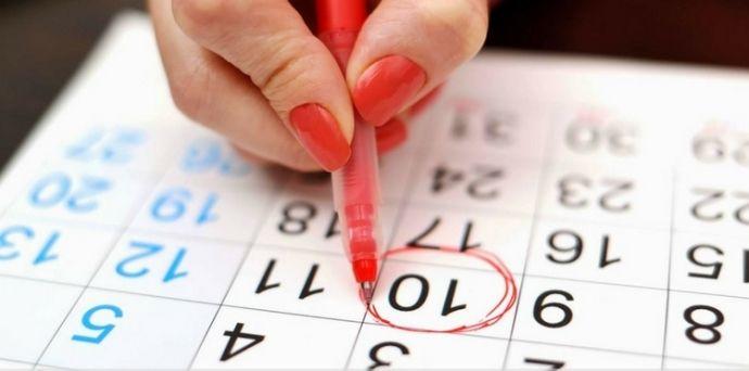календарь месячных