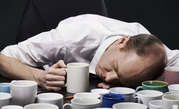 не спать после кофе