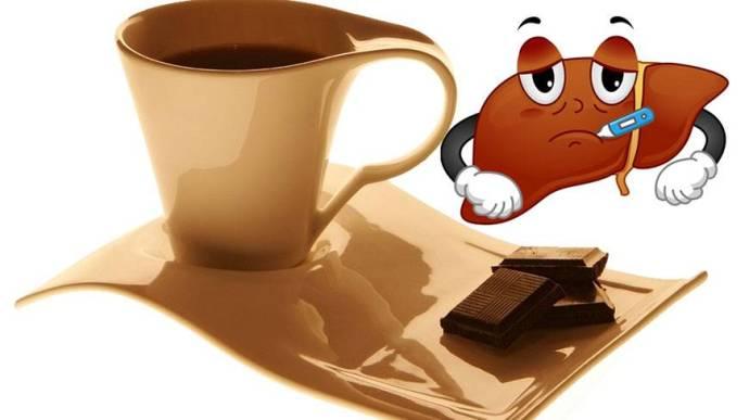 кофе шоколад и печень