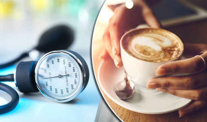 высокое давление и кофе