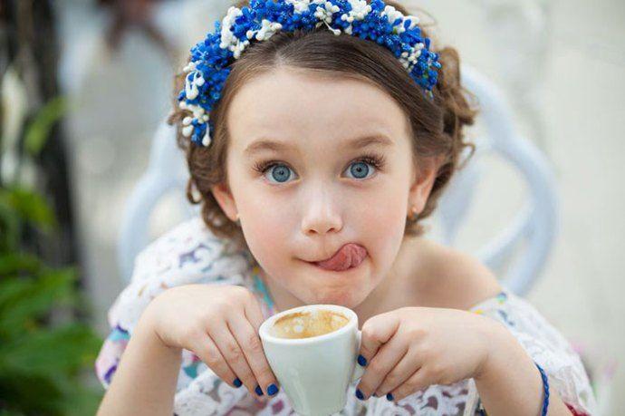 дети и кофе