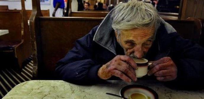 подвешенный кофе для бедных