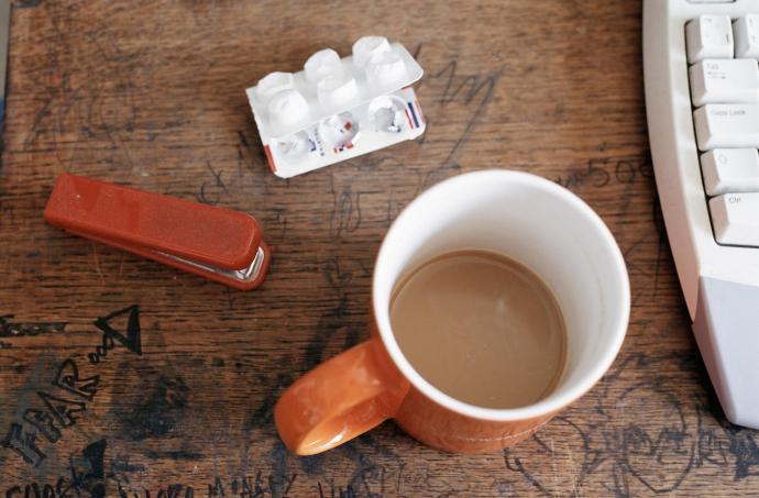 кофе при температуре