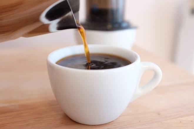 кофе из аэропресса