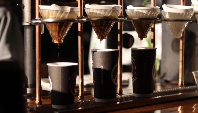 кофе через пуровер