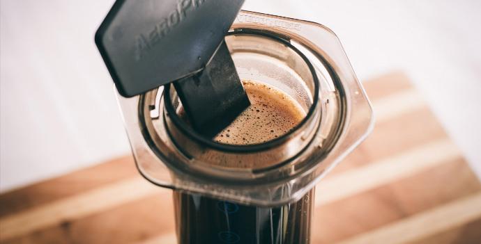 кофе в аэропрессе