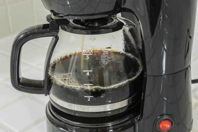 кофе в капельной кофеварке