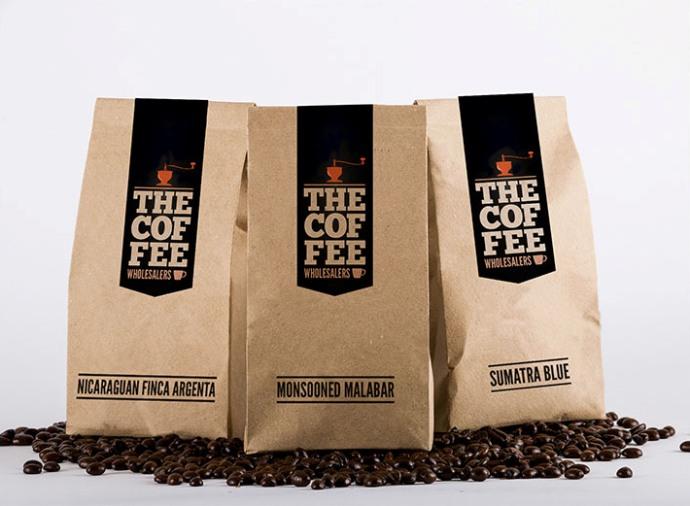 упаковка кофе из бумаги