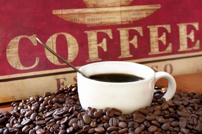 свежий кофе