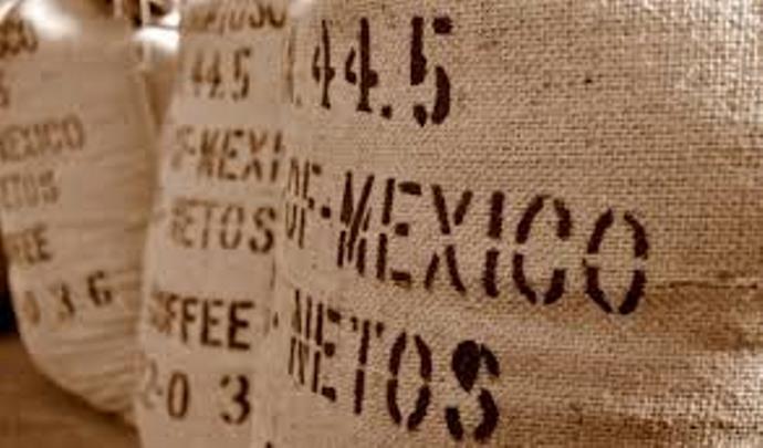 мексиканский кофе в мешках