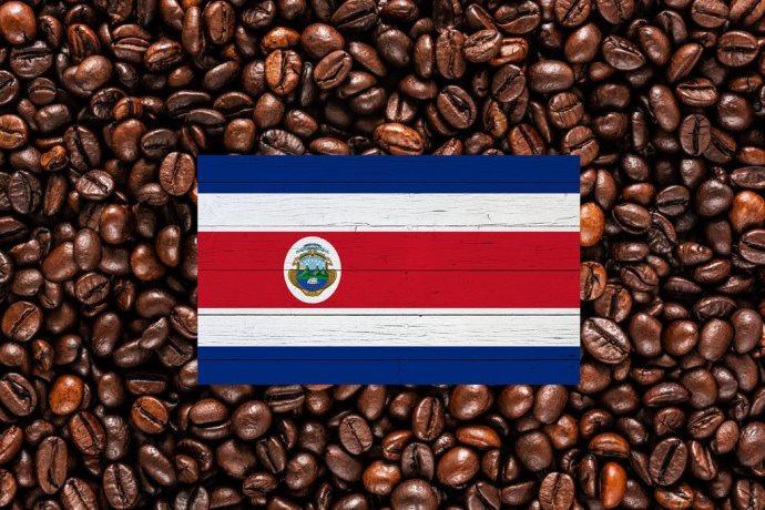 флаг коста-рика кофе